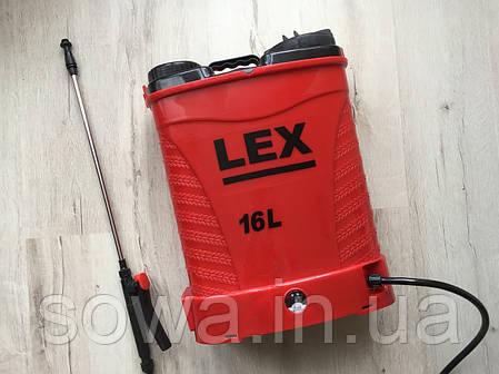 ✔️ Садовый опрыскиватель Lex Profi    15Ah, 16L, фото 2