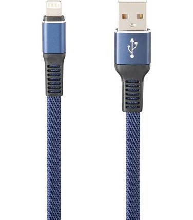 Кабель USB iPhone 5/6/7 2.1A Flexible GP-UC02i color Gelius Pro 1m Гарантия 6 месяцев, фото 2