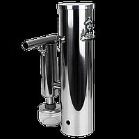 """Дымогенератор для холодного копчения с нержавейки 2,5 л с конденсатосборником (банка) """"DK"""""""