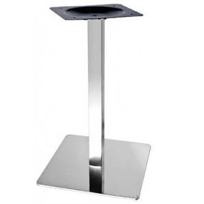 Опора для стола Кама, металл, нержавейка