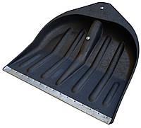 Лопата снегоуборочная черная Wave. Кратно 5 штукам.
