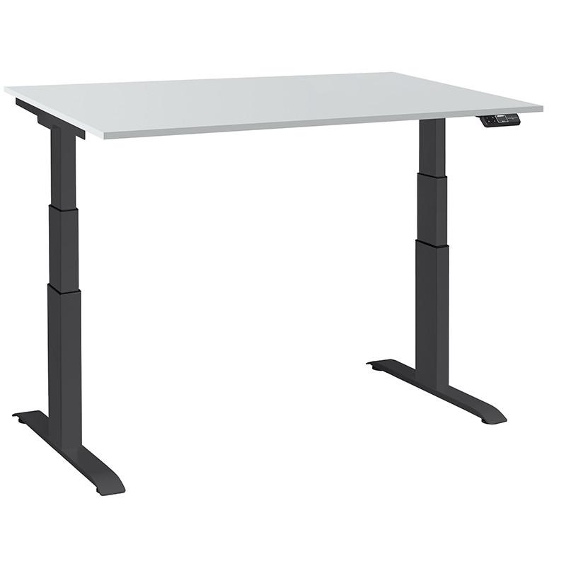 Ergon chrom Эргономичный стол для работы стоя и сидя регулируемый по высоте электроприводом