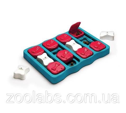 Інтерактивна іграшка-головоломка для собак Nina Ottosson Dog Brick, фото 2