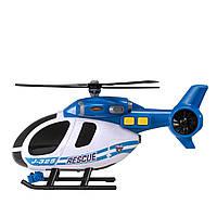 Машина HTI Поліцейський вертоліт зі світлом і звуком, 25 см Teamsterz 1416840, фото 1