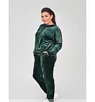 Женский велюровый костюм большие размеры  рр 50-60