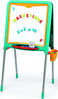 """Детский двухсторонний мольберт """"Буквы и Цифры"""" Smoby 410307 доска для рисования (дитяча дошка для малювання), фото 1"""