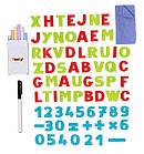 """Детский двухсторонний мольберт """"Буквы и цифры"""" регулируемый Smoby 410205 доска для рисования для детей, фото 4"""