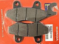 Тормозные колодки 4T GY6 80/125/150 куб. два уха, вилка вправо
