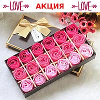 Мыло из роз Цветы из мыла Подарок девушки на день рождения Подарок жене Подарок для девушки