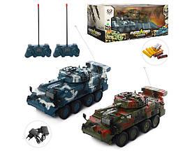 Игровой набор «Боевое сражение» с двумя танками на радиоуправлении 333-ZJ11