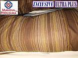 Подушка Для Беременных и Кормления Exclusive ULTRA PLUS, в комплекте наволочка - Коричневые полоски, фото 2