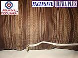 Подушка Для Беременных и Кормления Exclusive ULTRA PLUS, в комплекте наволочка - Коричневые полоски, фото 3