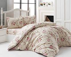 Комплект постельного белья хлопок Arya Dinah Двуспальный Евро