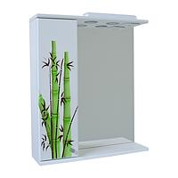 Зеркало для ванной 60-01 левое Бамбук