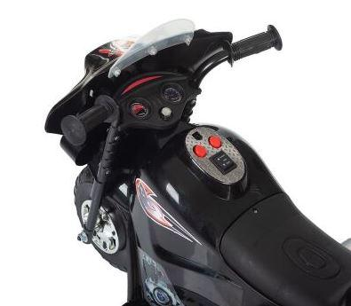 Детский электромотоцикл Little Biker - Black Babyhit