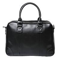 Сумка мужская черная, офисная, деловая, стильная OSKO For Businessmans 2 Black