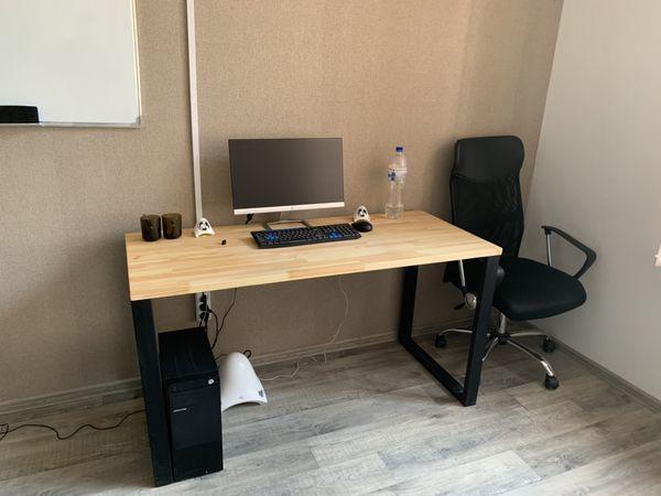 Стол обеденный, письменный 120*60 см Loft (Лофт) (стол 6)