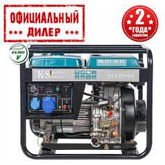 Генератор дизельний Konner&Sohnen KS 6100 HDE (5.5 кВт)