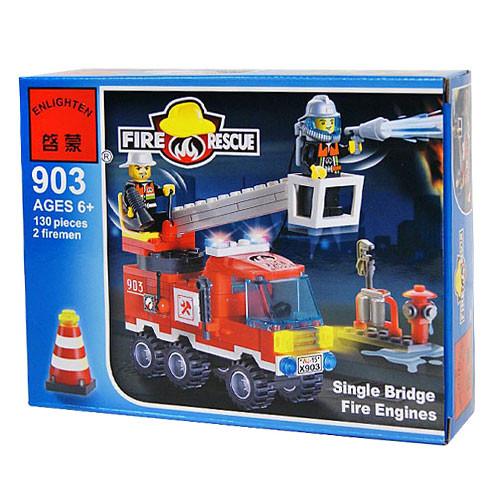 Конструктор Brick 903 Пожарная охрана 130 деталей