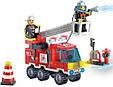 Конструктор Brick 903 Пожарная охрана 130 деталей, фото 2