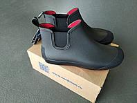 Резиновые ботинки Nordman Beat ПС 30 черные с красной подошвой
