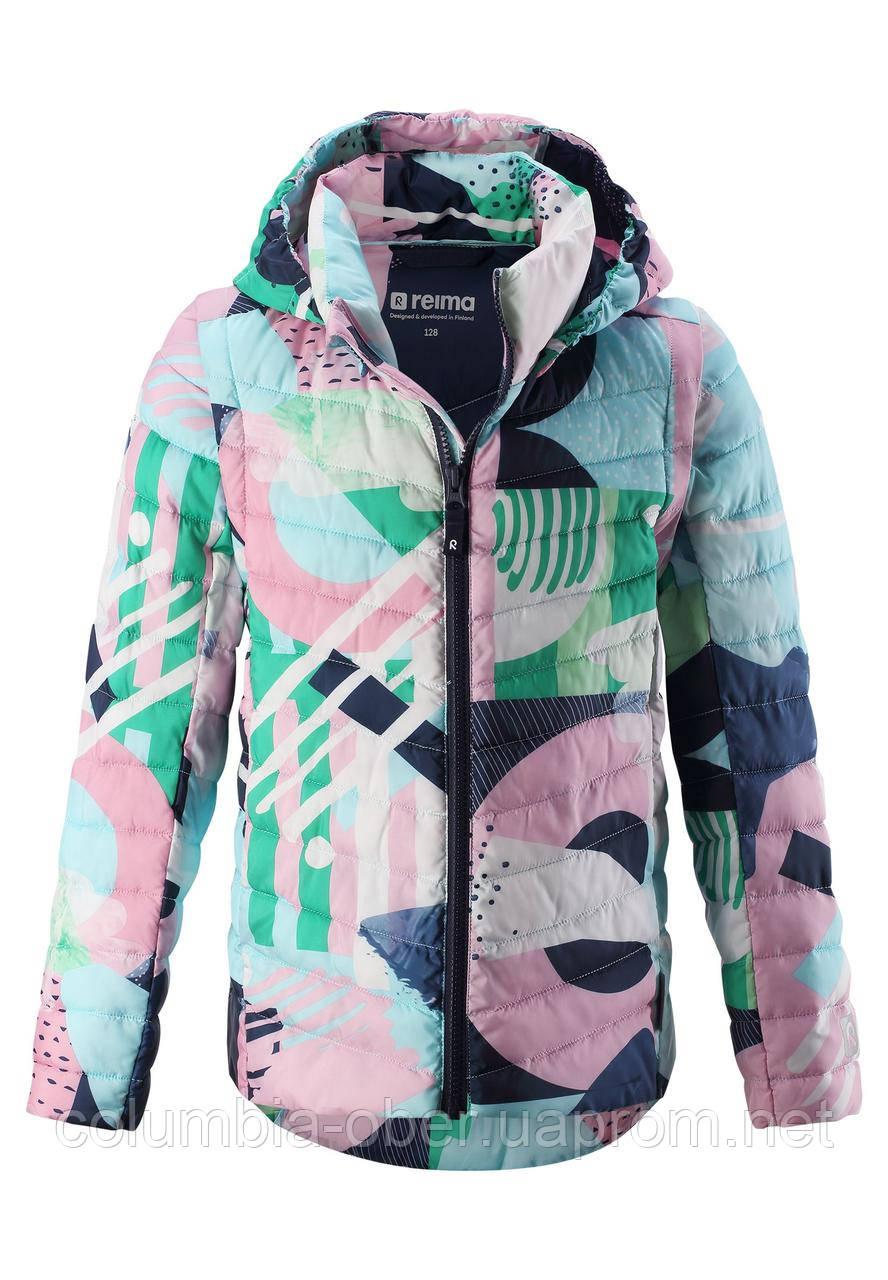 Демисезонная куртка - жилетка для девочки Reima 531440-8452. Размеры 104 - 146.