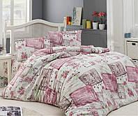 Комплект постельного белья хлопок Arya Roses TR1003619