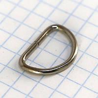 Полукольцо 12,5 мм никель для сумок a5584 (400 шт.)