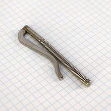 Прижим для денег 74 мм никель a5561 (5 шт.)