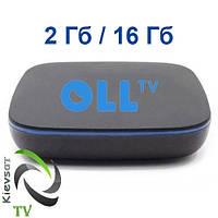 Оll.TV BOX «Старт»+ 163 канала, 48 в HD, видеотека