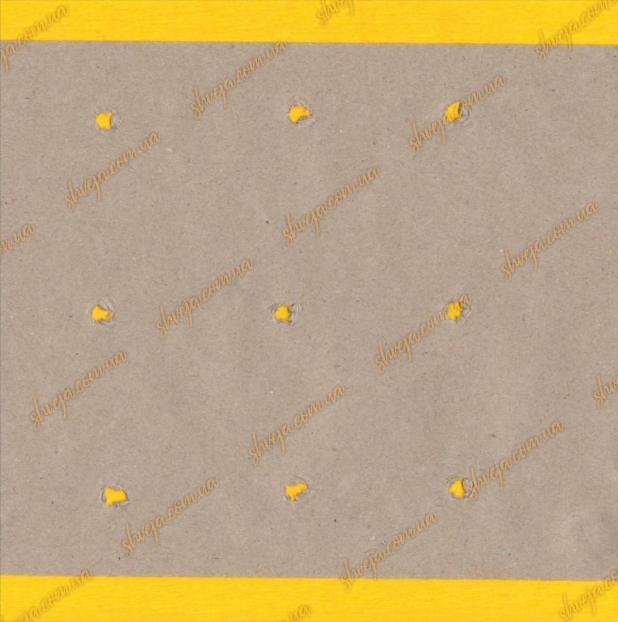 Папір під настил макроперфорований крафт 195см /80г