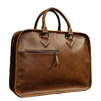 Сумка мужская коричневая, офисная, деловая, стильная OSKO  For Businessmans