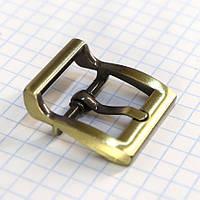 Пряжка 20 мм тертый антик для сумок a3518 (10 шт.), фото 1