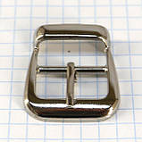 Пряжка 20 мм никель для сумок t4861 (10 шт.), фото 2