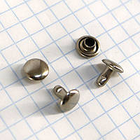 Хольнитен двухсторонний 7*7*7 мм никель a3725 (1000 шт.), фото 1