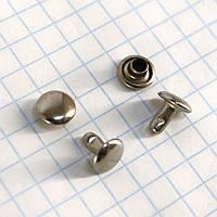 Хольнитен двухсторонний 7*7*7 мм никель a3725 (1000 шт.)