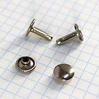 Хольнитен двухсторонний 9*9*12 мм никель a3769 (1000 шт.)
