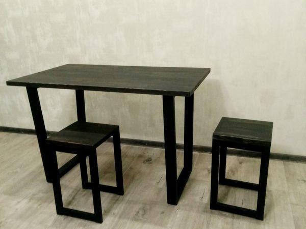 Стол обеденный, письменный 120*60 см Loft (Лофт) (стол 4)
