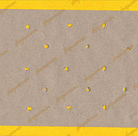 Папір під настил подвійна макроперфорація крафт 235см /80г