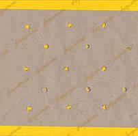 Бумага под настил двойная макроперфорация крафт 235см / 80г рулон 30кг