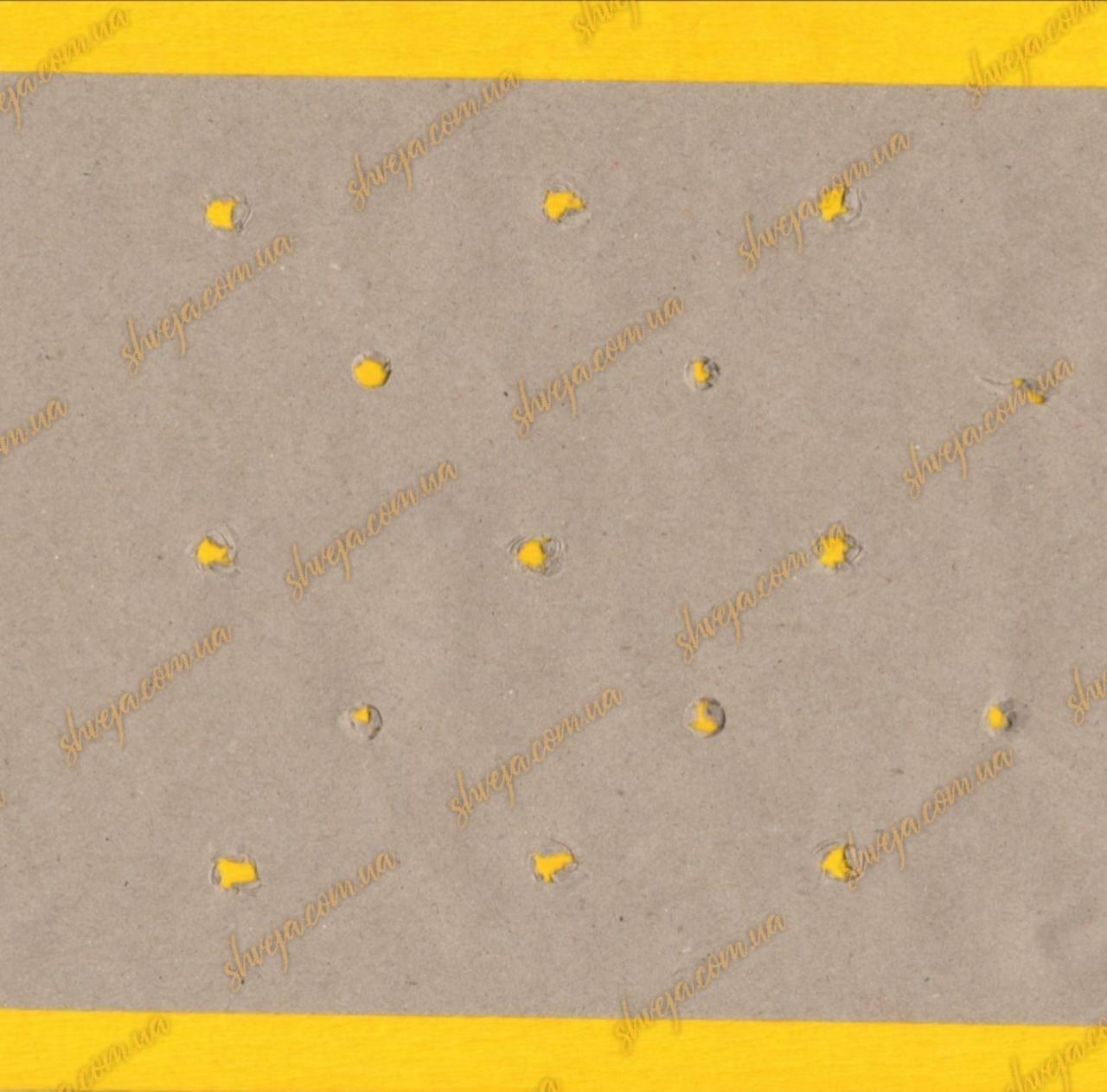 Папір під настил подвійна макроперфорація крафт 168см /80г
