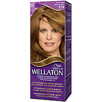 Крем-краска для волос Wellaton стойкая 7/3 Лесной орех (4056800023141)