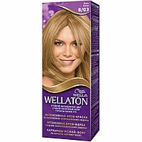 Крем-краска для волос Wellaton 8/03 Ясень (4056800756797)