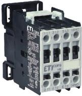 Контактор силовой ETI CEM 12.10 12А 24V AC 3NO+1NO 5.5kW 4643120 (на DIN-рейку, 25A AC1, 12A AC3)