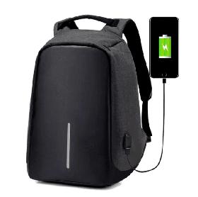 Рюкзак Bobby Bag Антивор для ноутбука + USB порт Черный