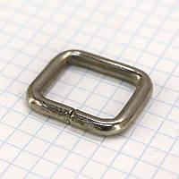 Рамка проволочная 20 мм никель для сумок a6027 (50 шт.)