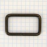 Рамка проволочная 35 мм антик для сумок t4135 (20 шт.), фото 2
