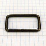 Рамка проволочная 35 мм антик для сумок t4135 (20 шт.), фото 3
