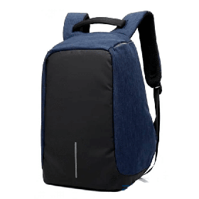 Рюкзак Bobby Bag Антивор для ноутбука + USB порт Синий