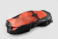 Чехол сиденья Alpha черно-красный SOFT SEAT